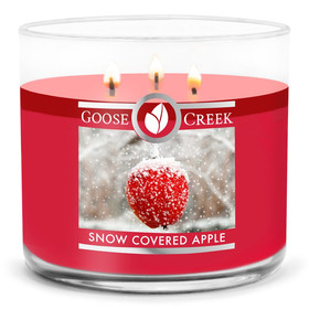 Goose Creek Candle® Snow Covered Apple 3-Docht-Kerze 411g