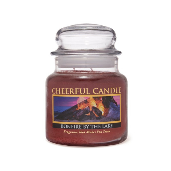 Cheerful Candle Bonfire by the Lake 2-Docht-Kerze 453g