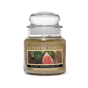 Cheerful Candle Rustic Woodland Fig 2-Docht-Kerze 453g