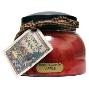 Cheerful Candle Baked Candy Apple 2-Docht-Kerze Mama Jar 623g