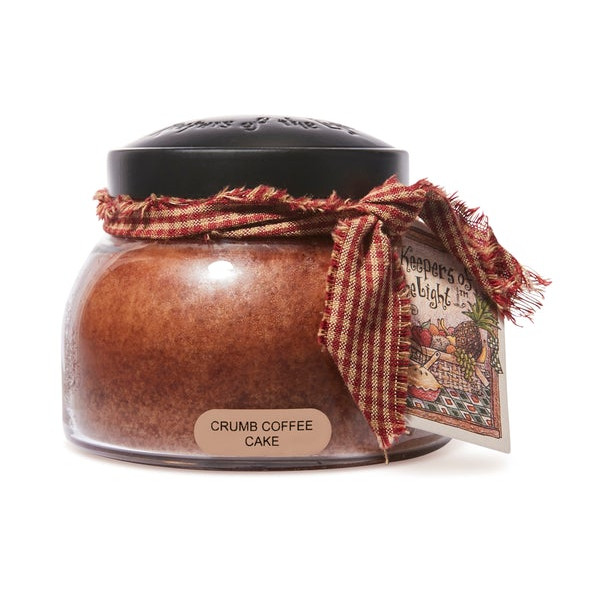 Cheerful Candle Crumb Coffee Cake 2-Docht-Kerze Mama Jar 623g