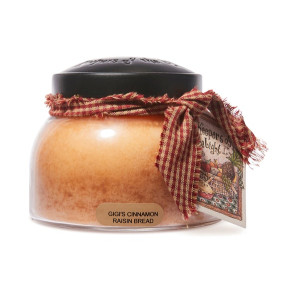 Cheerful Candle Gigi's Cinnamon Raisin Bread 2-Docht-Kerze Mama Jar 623g