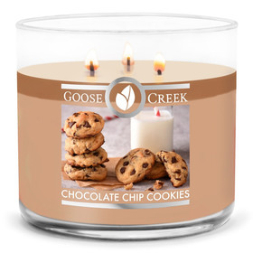 Goose Creek Candle® Chocolate Chip Cookies 3-Docht-Kerze 411g