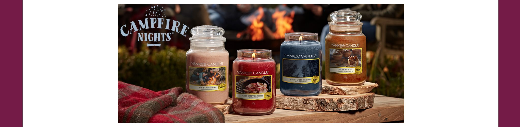 Yankee Candle Campfire Nights Collection